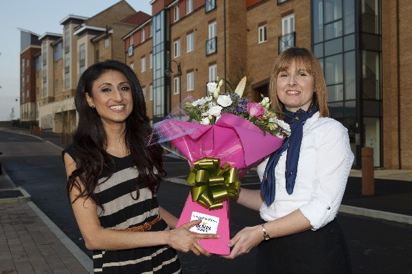 New house and a new life as first NewBuy customer Heena moves into a Bovis home