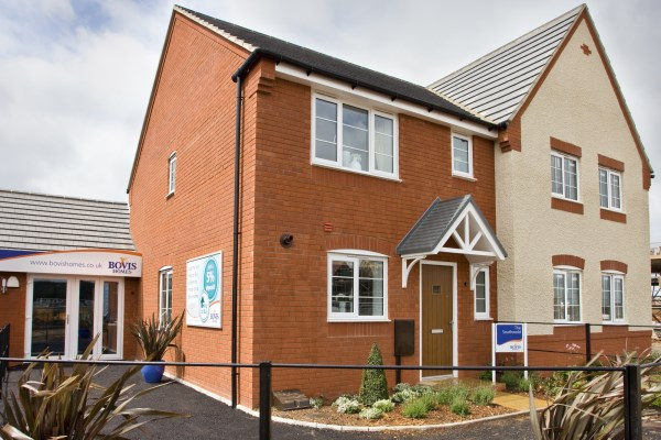 Show home at Abbey Vale, Evesham