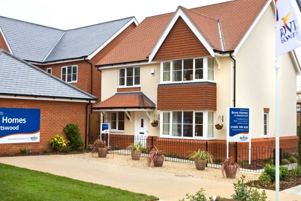 New homes at Abbotswood, in Romsey