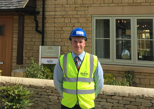 Site Manager Adam Elvin