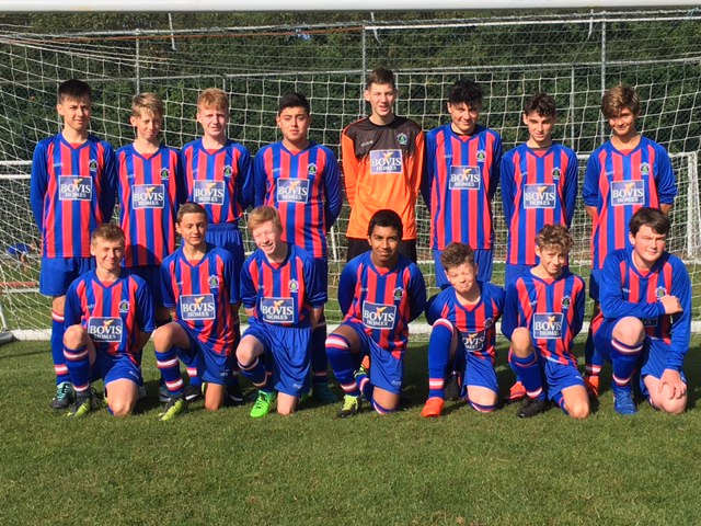 Image for Kesgrave kick-off in new kit thanks to local house builder