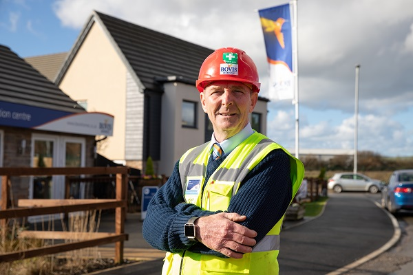 Image for Barnstaple man's delight after landing excellence award for Braunton new-build site