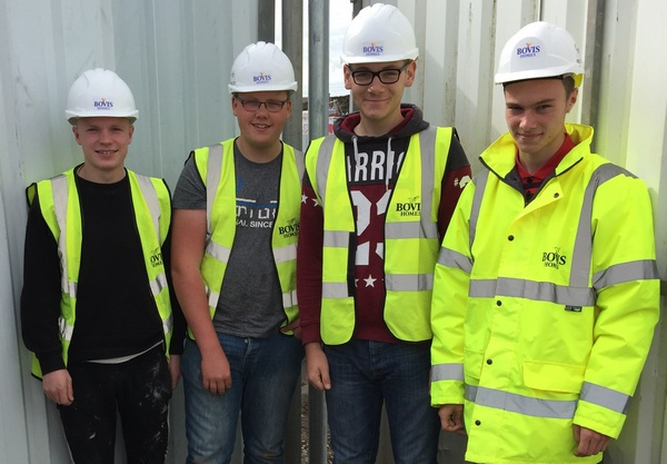 Apprentices at Wantage