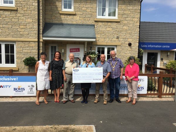 Image for Axminster charity benefits from Bovis Homes buyers