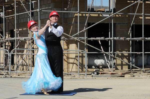Roger Foxtrot Tango - site boss is strictly Cambourne dancing