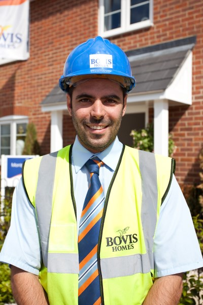 Bovis Homes Site Manager Ben Virabi