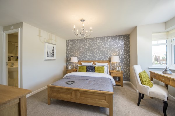 Bedroom at Abbey Vale, Evesham