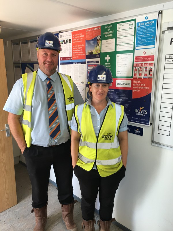 Image for Living and working together cements happy relationship for Nottingham's construction couple