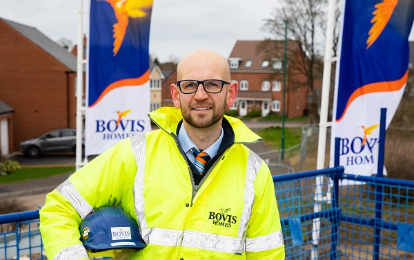 Image for Former apprentice Ben is now the boss at Shrewsbury new-build location