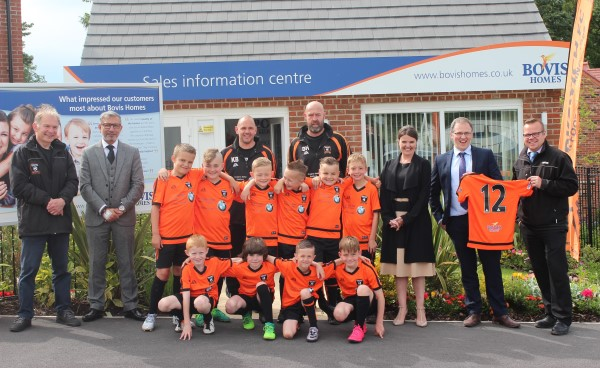 Image for From Berkswich to Benfica: Bovis Homes help Stafford youngsters shine