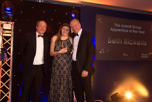 Beth winning award