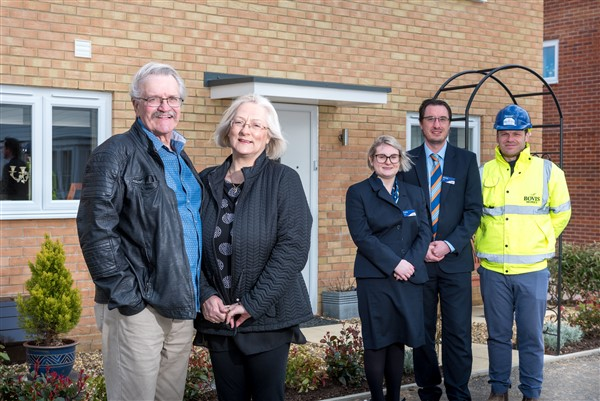 Image for New-build fans find dream downsizer home in Wymondham