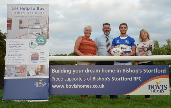 Image for Rugby club and house builder kick off second season of sponsorship