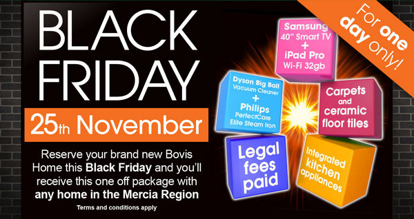 Image for Black Friday offer - For one day only...!