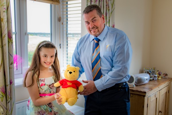 Image for Evie comes to aid of teddy bear in need of new Exeter home