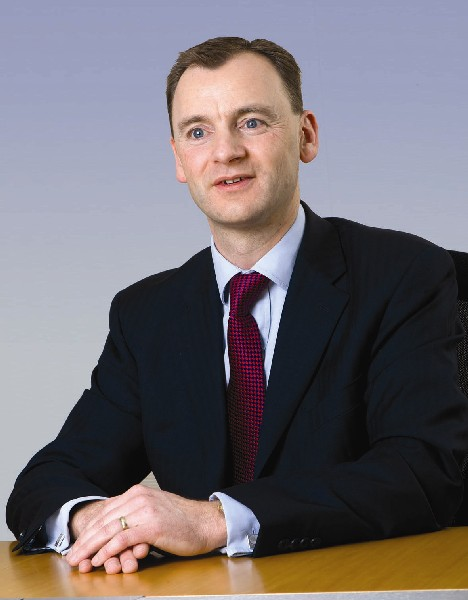 Bovis Homes Chief Executive, David Ritchie