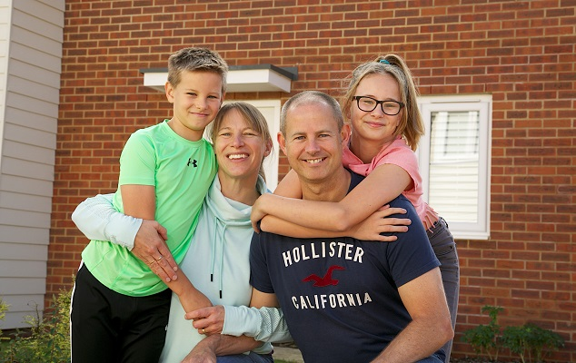 Image for West Sussex home restores family's faith in new-build