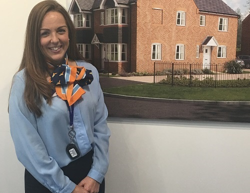 Image for Irish dancer Claire steps into housebuilder role with style as Sandbach new-builds prove a hit