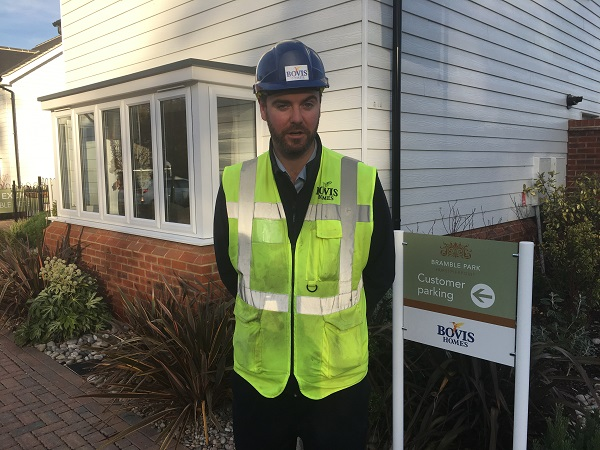 Image for Communication is key to housing success says South Croydon site manager