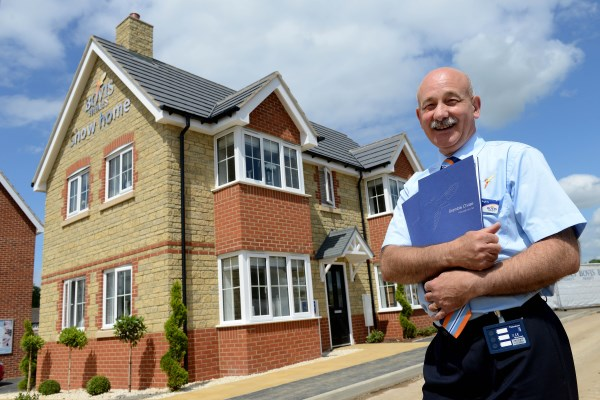 Image for Launch of Honeybourne home sees house hunters come calling