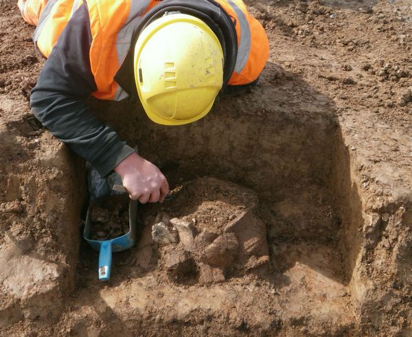 Image for Sherford's stone age history recognised in national archaeology awards