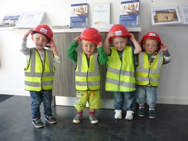 Kids from Budehaven Day Nursery visit Shorelands