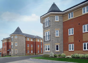 Picture of the Nightingales development in Bristol
