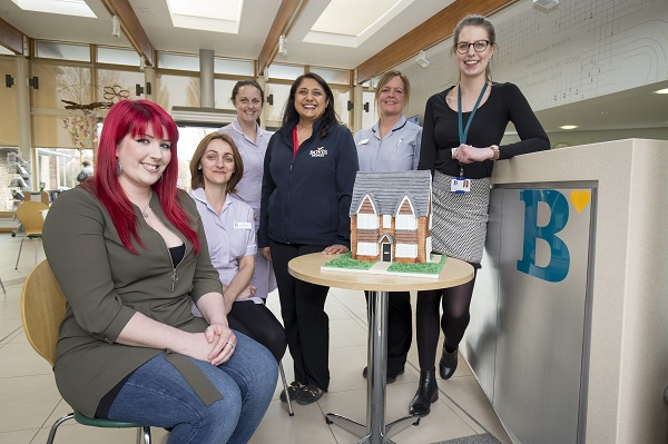 Image for Worthing baker celebrates her new-build home with giant cake for hospice