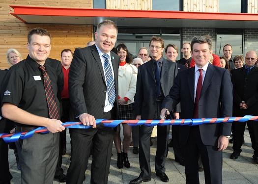 Opening of the Olympics centre in Cambourne
