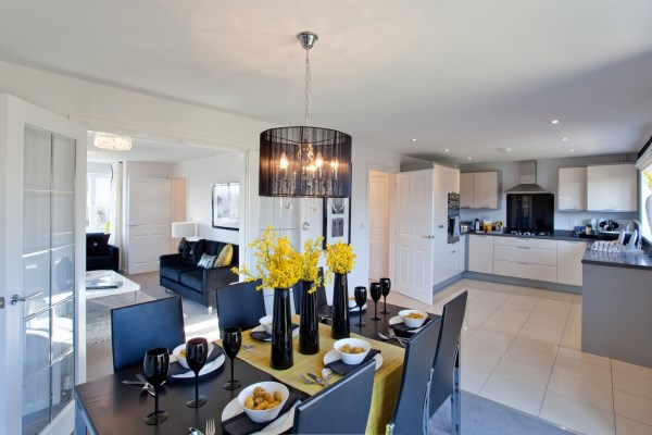 The Canterbury show home about to open at Loachbrook Meadow