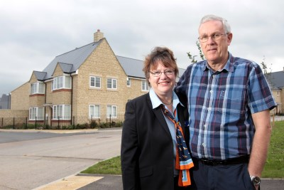Carole and David Pallister - Centurion View, Coopers Edge