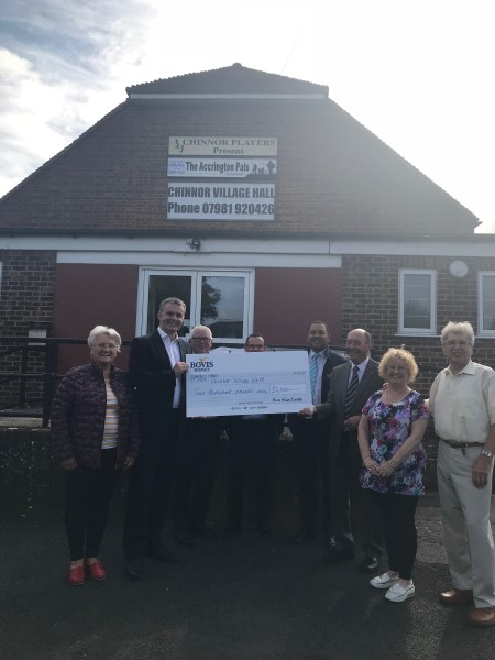 Image for Village hall set to cook up a storm thanks to support from local home builder
