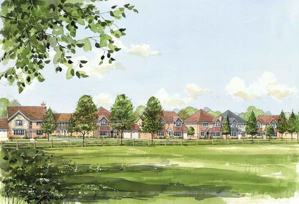 Image for Much-needed new homes get the green light in Chinnor
