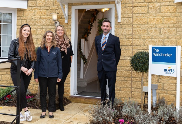 Image for Interior stylist kits out Christmas show home in Shrivenham–and highlights military links!