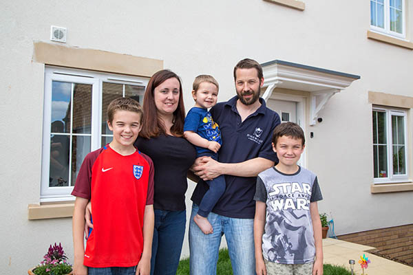 Image for Somerset mum's delight as part-exchange scheme opens door to dream Wincanton move