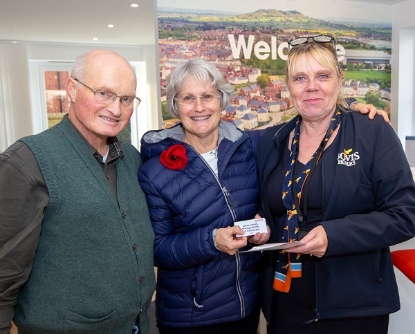 Image for Christmas cracker for Coopers Edge couple who are winners at last