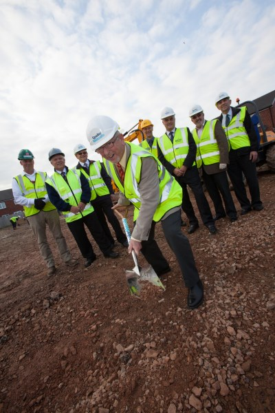 Work starts at Coopers Edge community centre