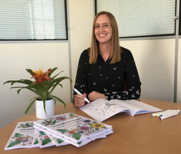Image for Design specialist Lisa offers inspiration with colourful new book