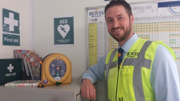 Image for Bovis Homes announces plans to present local communities with defibrillators