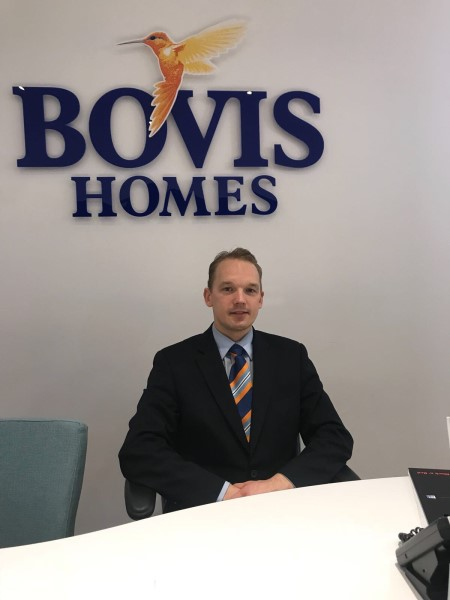 Image for Top customer service is high on the menu for Bovis Homes sales specialist David