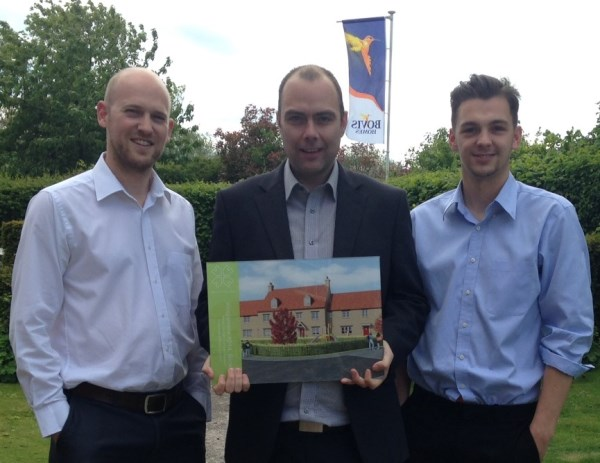 Bovis Homes at Kingsmere win With the Built for Life accreditation