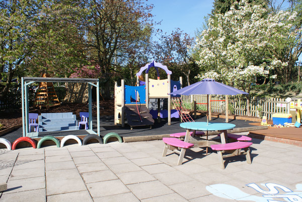 Image for Recycled materials help create eco-friendly play area at Hemel Hempstead school