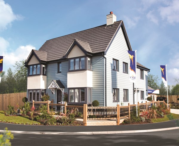 The show home at Pebble Beach, Seaton