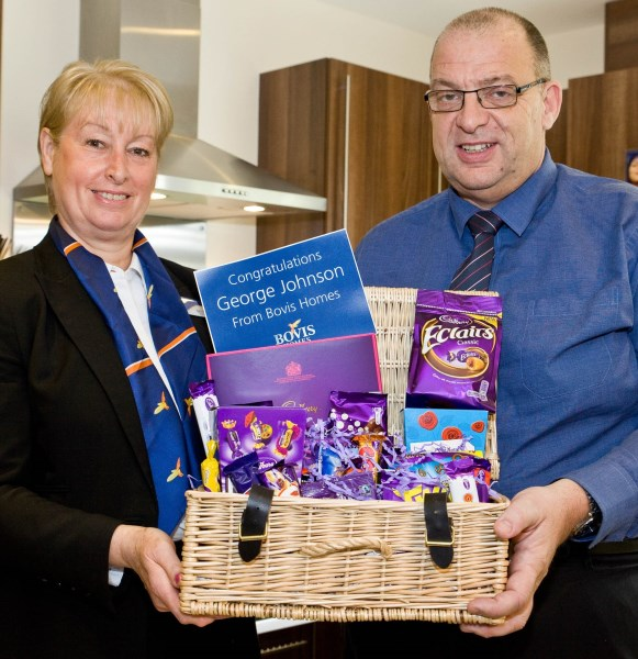 Winner of the Bovis Homes Easter egg competition
