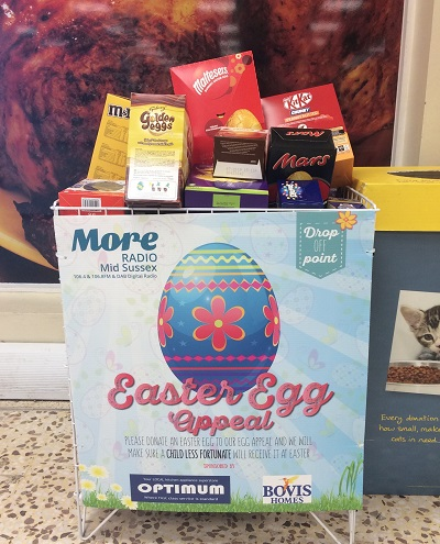 Image for Sussex children to enjoy Easter eggs as housebuilder backs radio appeal