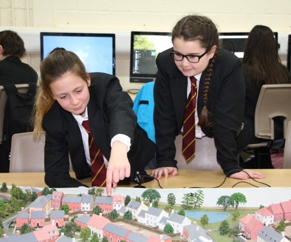 Image for Model village brings learning to life at Hampshire school