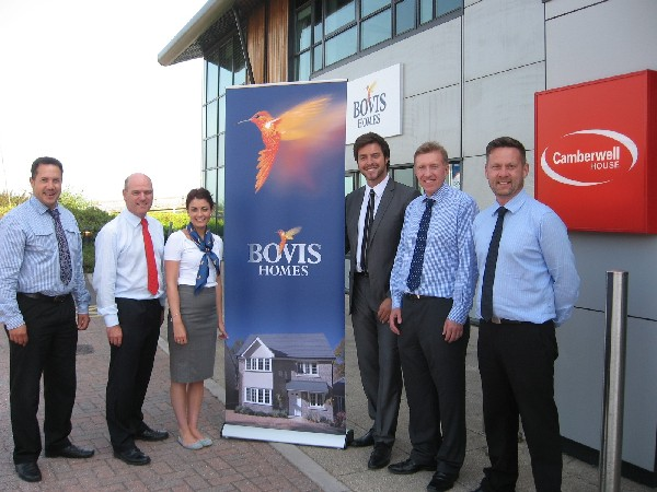 Bovis Homes open new office in Exeter