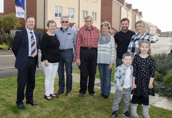 Image for Latest residents sing praises of Saxons Plain team as new part of Worthing community takes shape