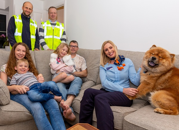 Image for New pad is a delight as Flitwick family look to create unfrogettable memories in dream home