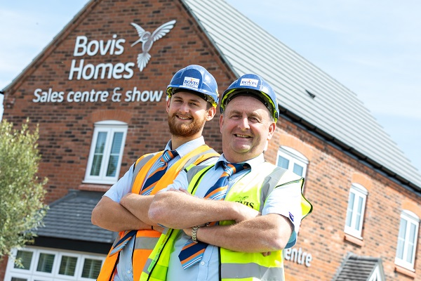 Site manager Bovis Homes Furrowfields Bishop's Itchington